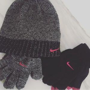 🆕Nike Hat & Glove Set